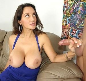 Big Tits Handjob Porn Pictures